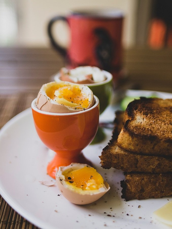 Recipe: Kaya Toast & Soft-Boiled Eggs